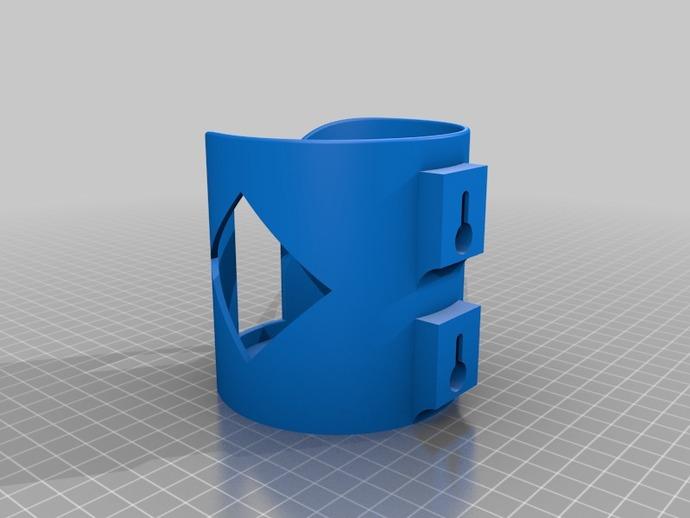 Wall Mount Mug : L antre du tryphon wall mounted bottle can and mug holder