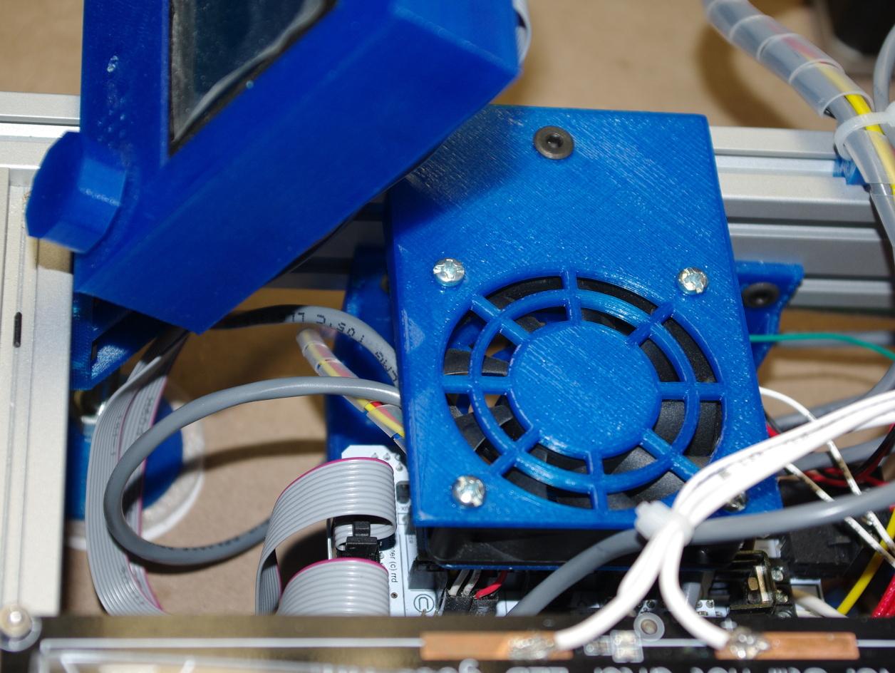 Fan Holder for Aluminium Extrusion (New Design)
