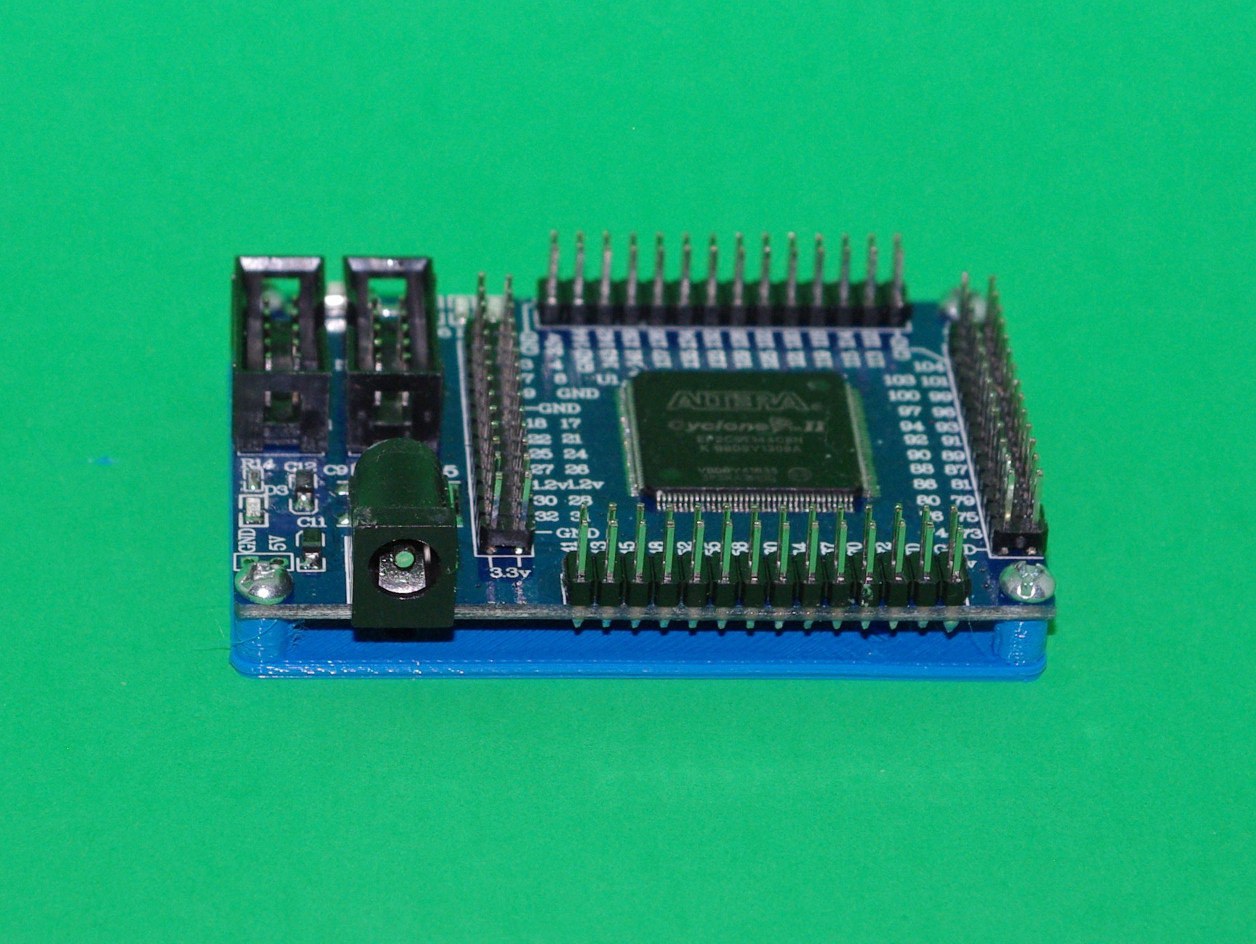 ALTERA Cyclone II FPGA Development Board Mounting and Drilling Plates