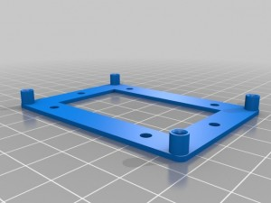 Altera_Cyclone_II_Dev_Board_Mounting_Plate_preview_featured