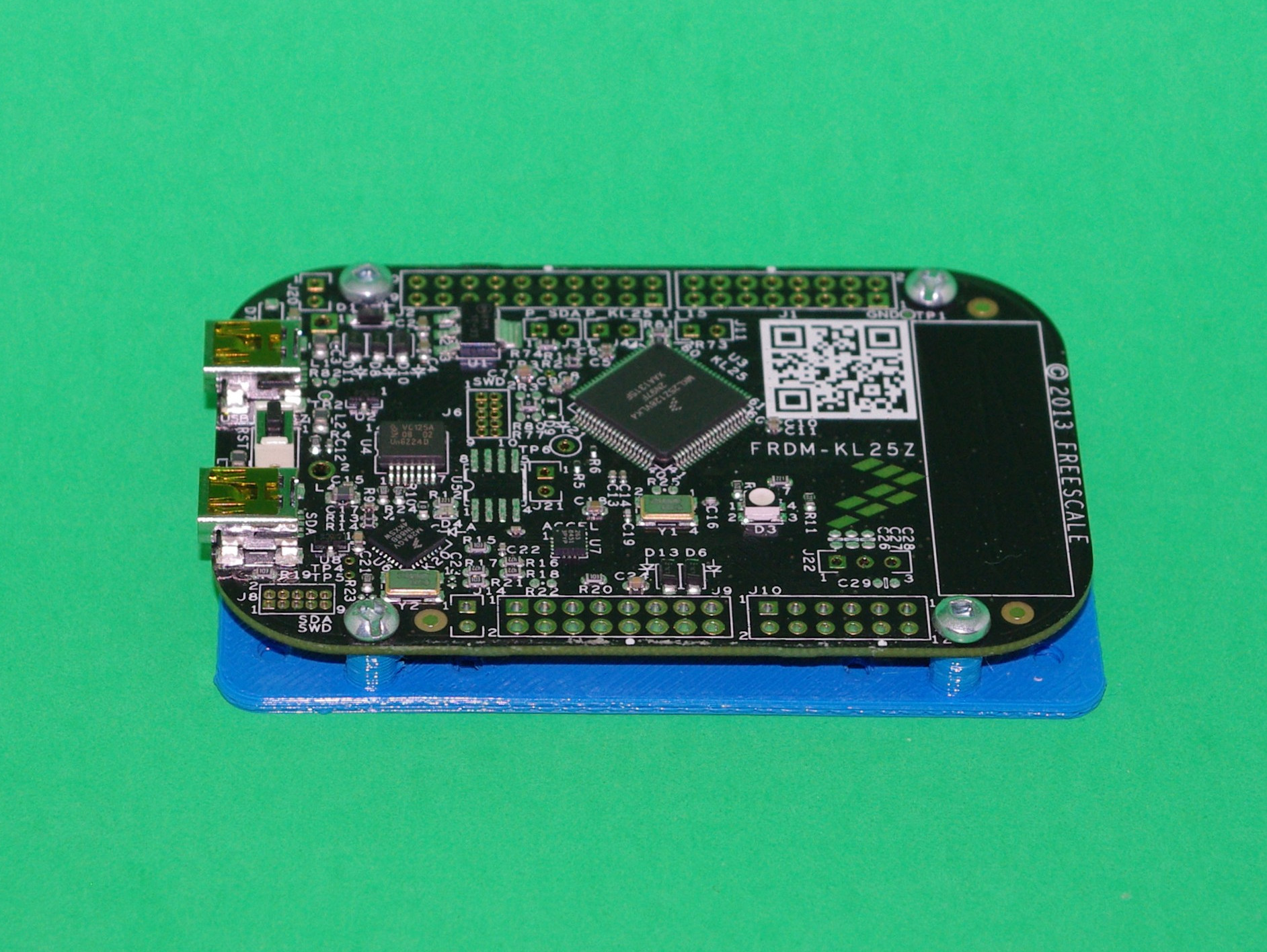 Freescale FRDM-KL25Z Board Drilling And Mounting Plates