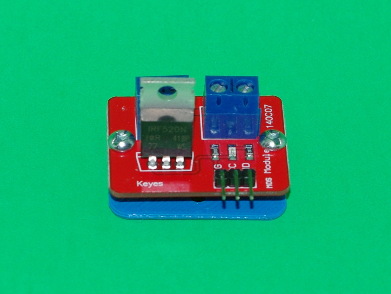 Keyes Mosfet Power Control Board Mounting And Drilling Plates