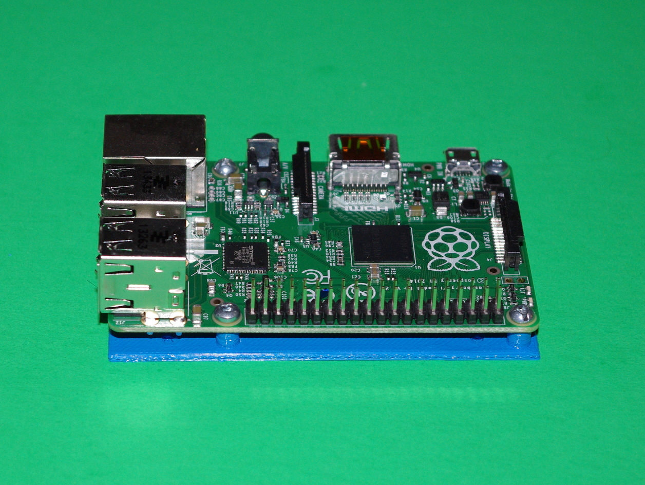 Raspberry Pi Model B+ Drilling And Mounting Plates