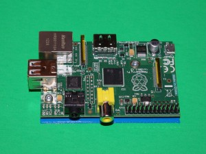 Raspberry Pi B view 1