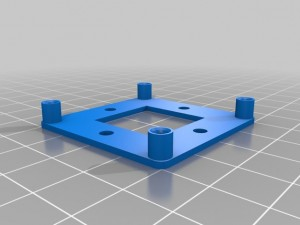 Solarbotics_L298_Compact_Motor_Driver_Mounting_Plate_preview_featured