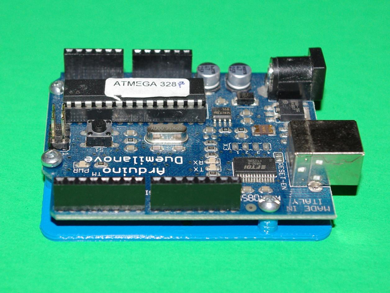 Arduino UNO / Duemilanove / Diecimila / Leonardo Drilling And Mounting Plates