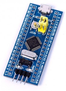 Upload code to a STM32 Minimum System Development Board