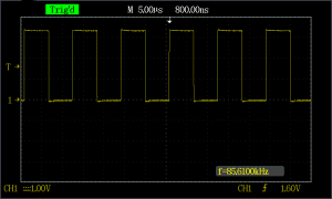 ESP8266 generated wave In C with correction