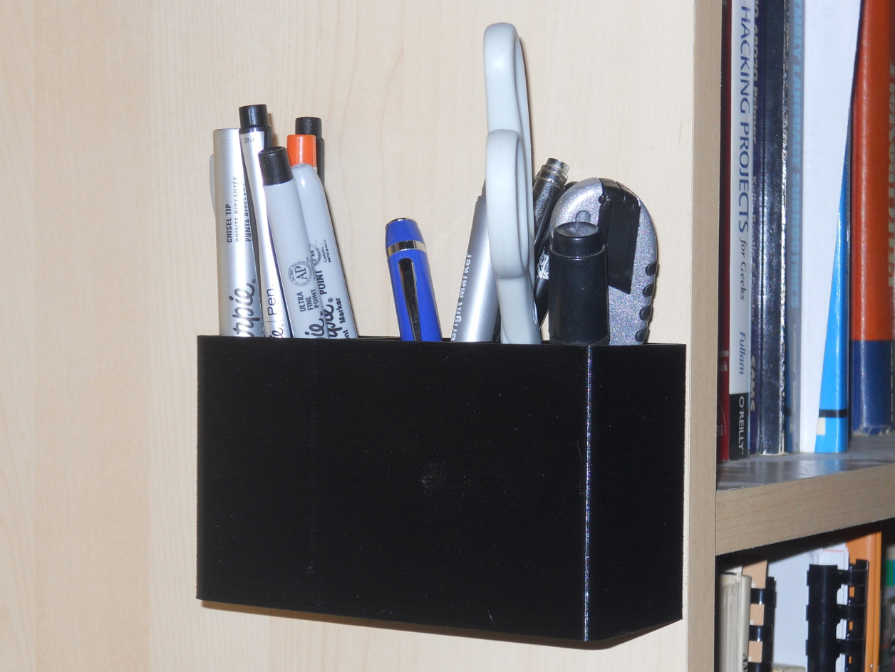 Wall Mounted Pen Cup