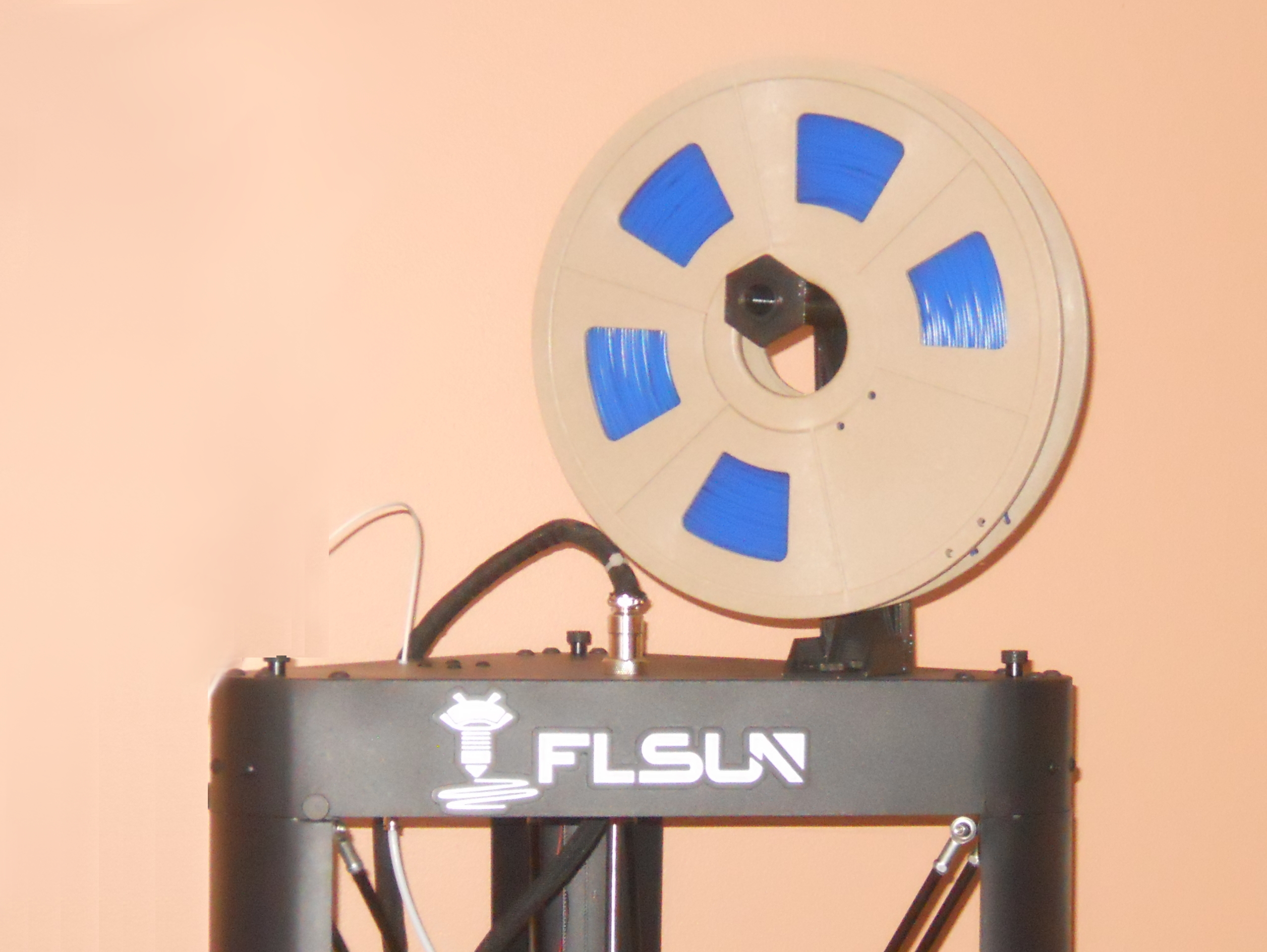 FLsun QQ Spool Holder (Updated)
