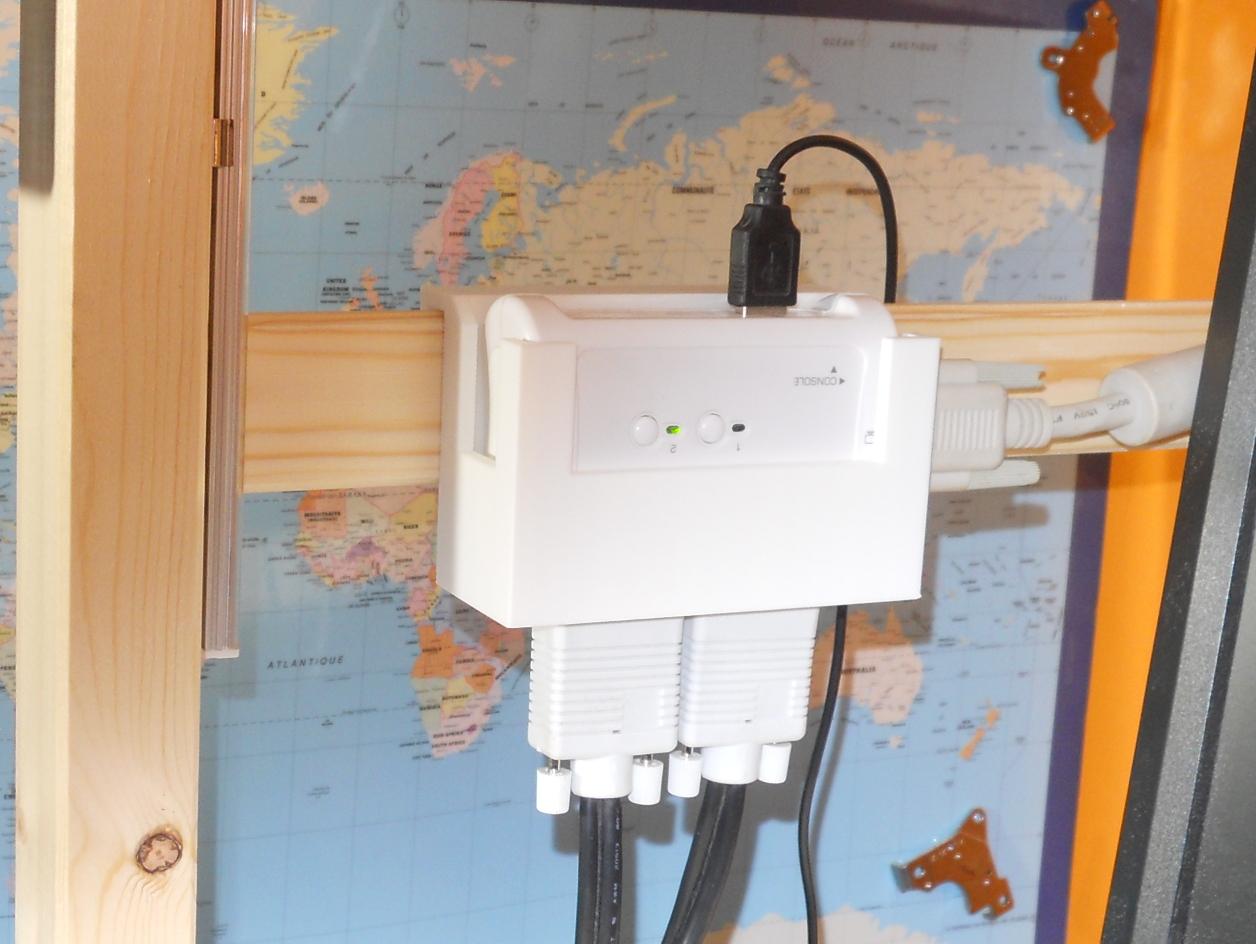 TRENDnet TK-207K KVM Holder for Ikea Ivar