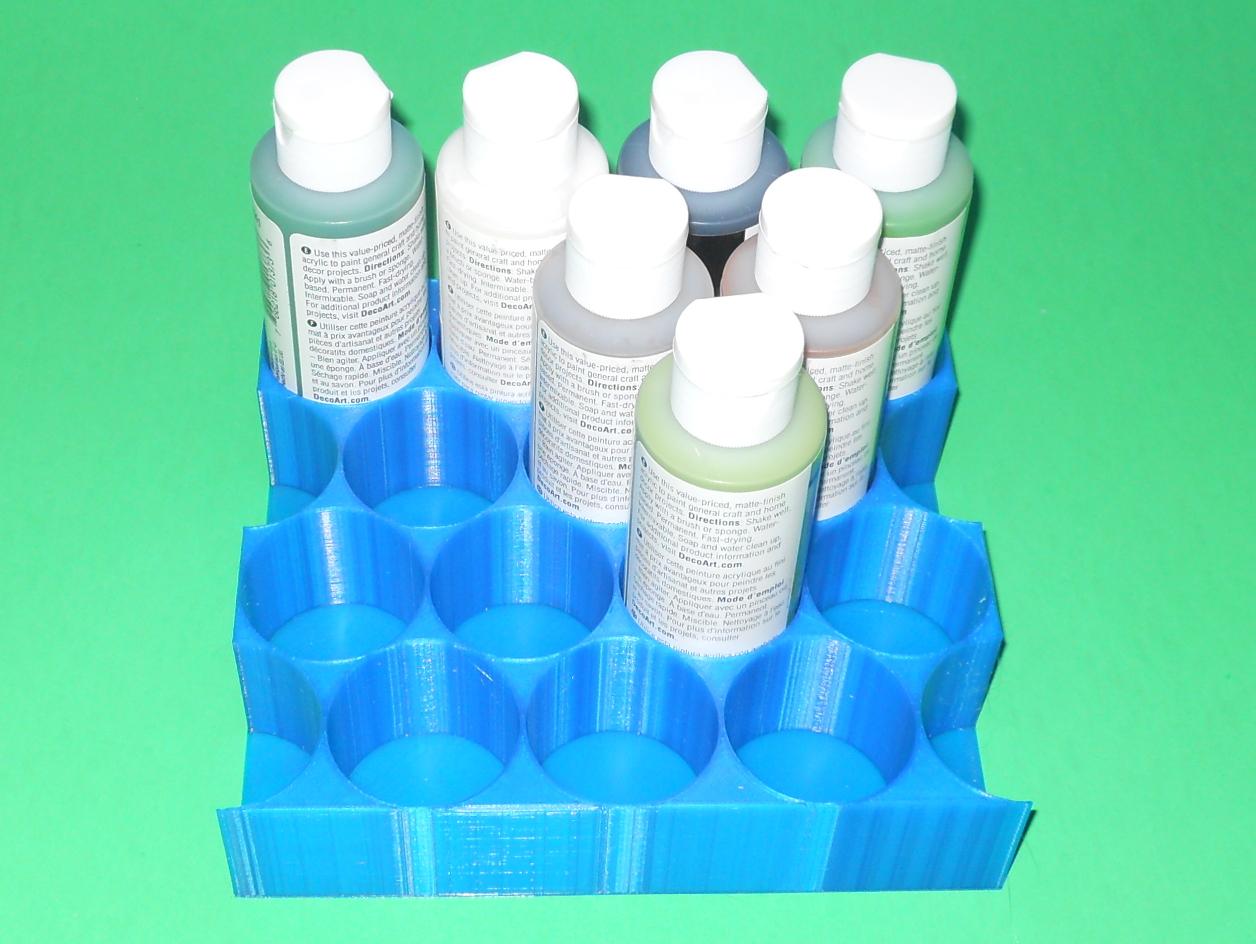 Parametric Bottle Rack