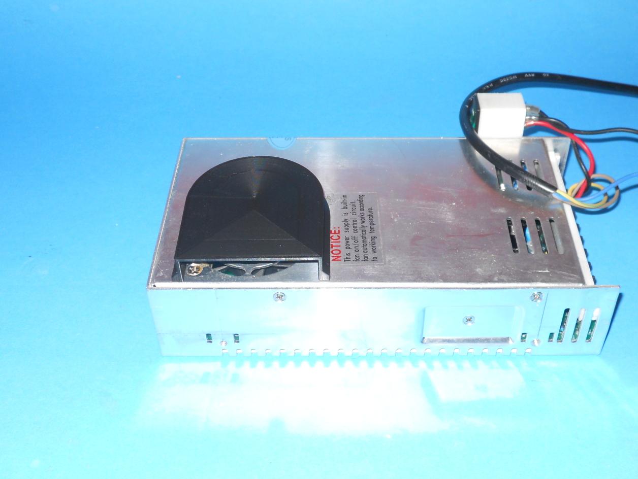 Power Supply Fan Deflector