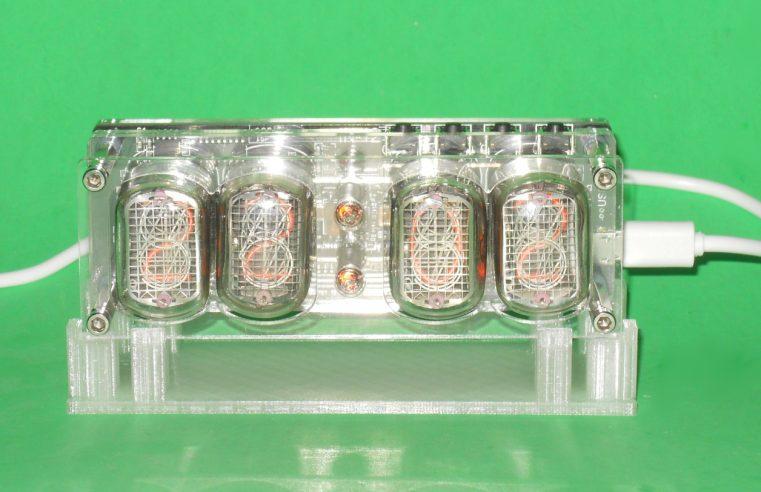 4 Digits Nixie Tube Clock Stand