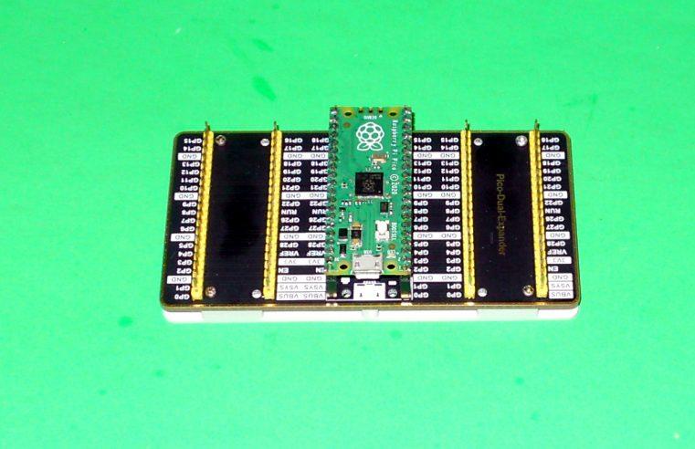 Waveshare Pi Pico Dual Expander Base Plate