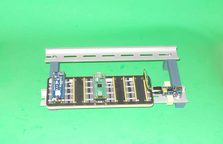 DIN Rail Prototyping Stand V02